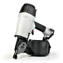 Tough, durable, high power depth adjusting siding nailer coil gun