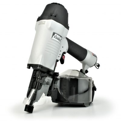 Tough, durable, depth adjusting siding nailer coil gun