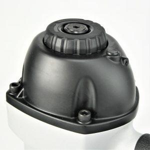 Tough, durable, high power depth adjusting siding nailer coil gun