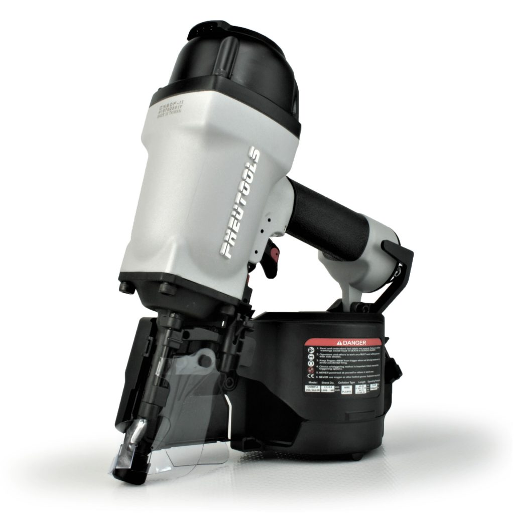 Tough, durable, high power coil framing nailer gun
