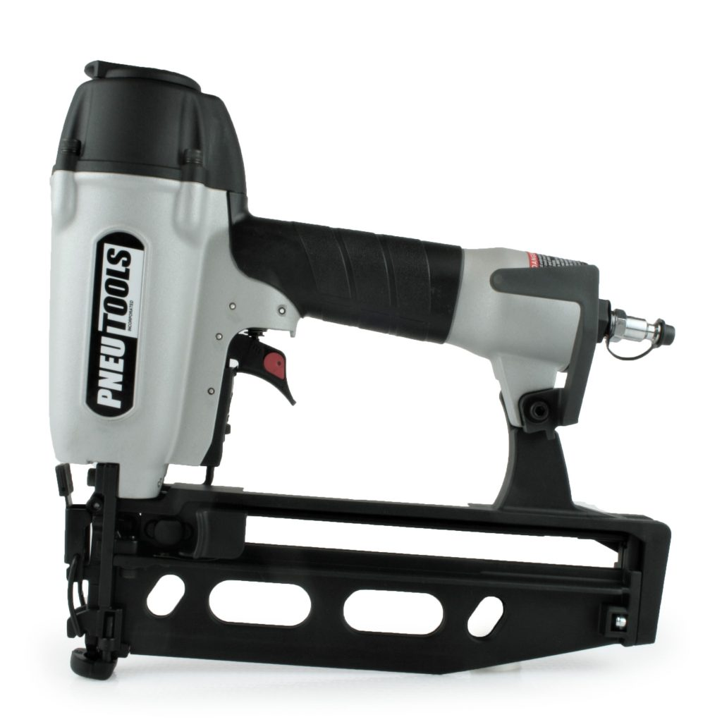 Finish nailer durable, tough, depth adjustment straight 16 degree gun