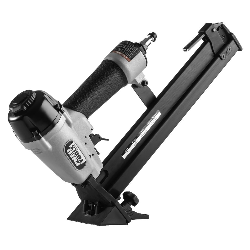 FS9040L-laminate-flooring-tool-gun-double-length-magazine-angle-R1