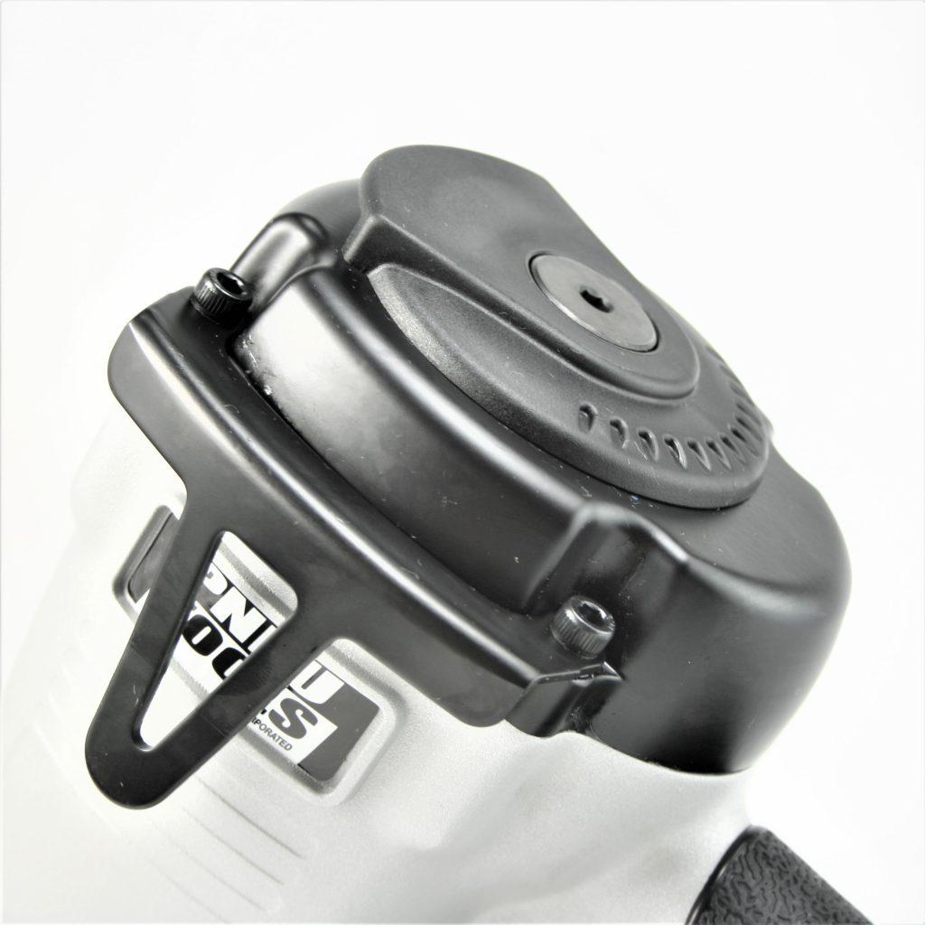 Tough, durable single shot joist hanger metal connector nailer gun