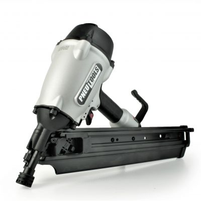 Tough, durable, fast, lightweight paper tape 34 degree framing nailer gun