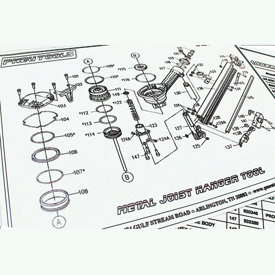 Spare Parts and Kits – PneuTools on