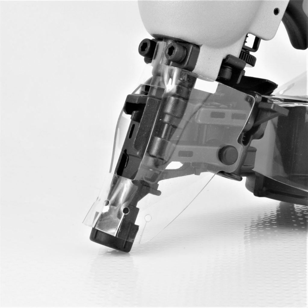 Tough, durable mini industrial coil nail gun