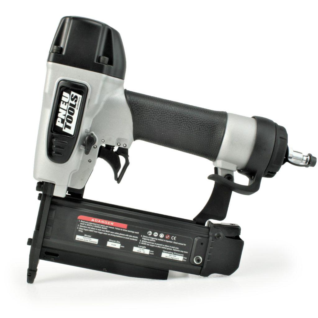 Headless pinner finish nailer tool gun