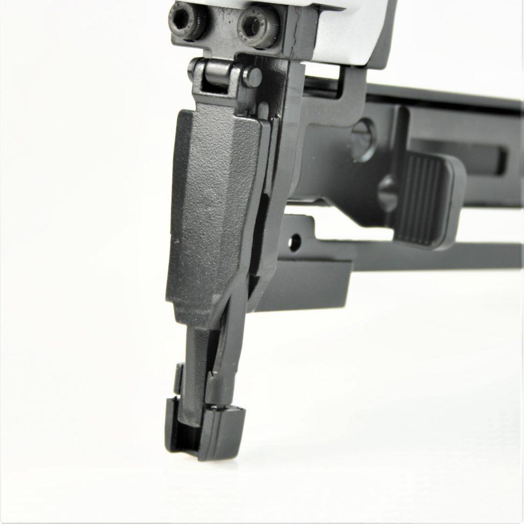 Tough, durable 18 gauge industrial narrow crown staple gun